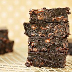 Dairy-Free Gluten-Free Fudgy Brownies