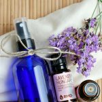 Love the fresh floral scent in your linens? Make your own DIY Homemade Linen Spray with Essential Oils in just 5 minutes and enjoy months of night time pampering that every mom could use after a busy day!