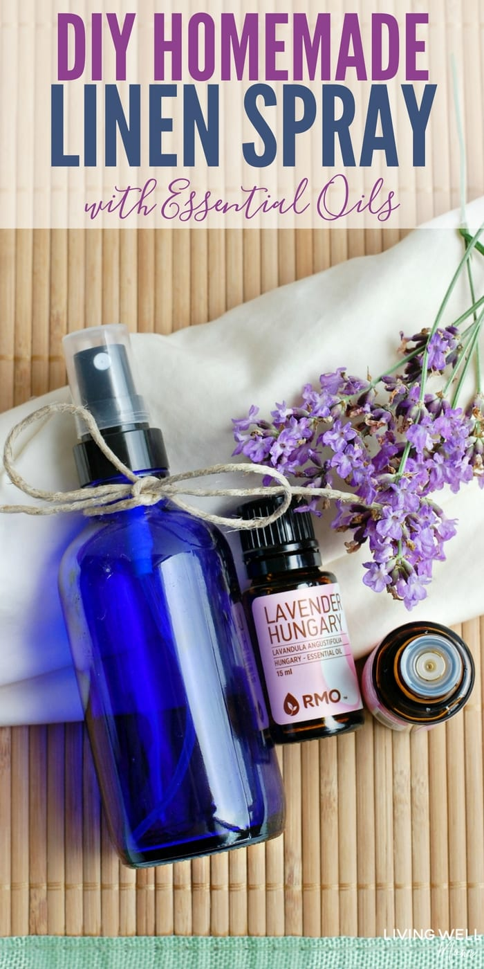 How To Make An All Natural Linen Spray