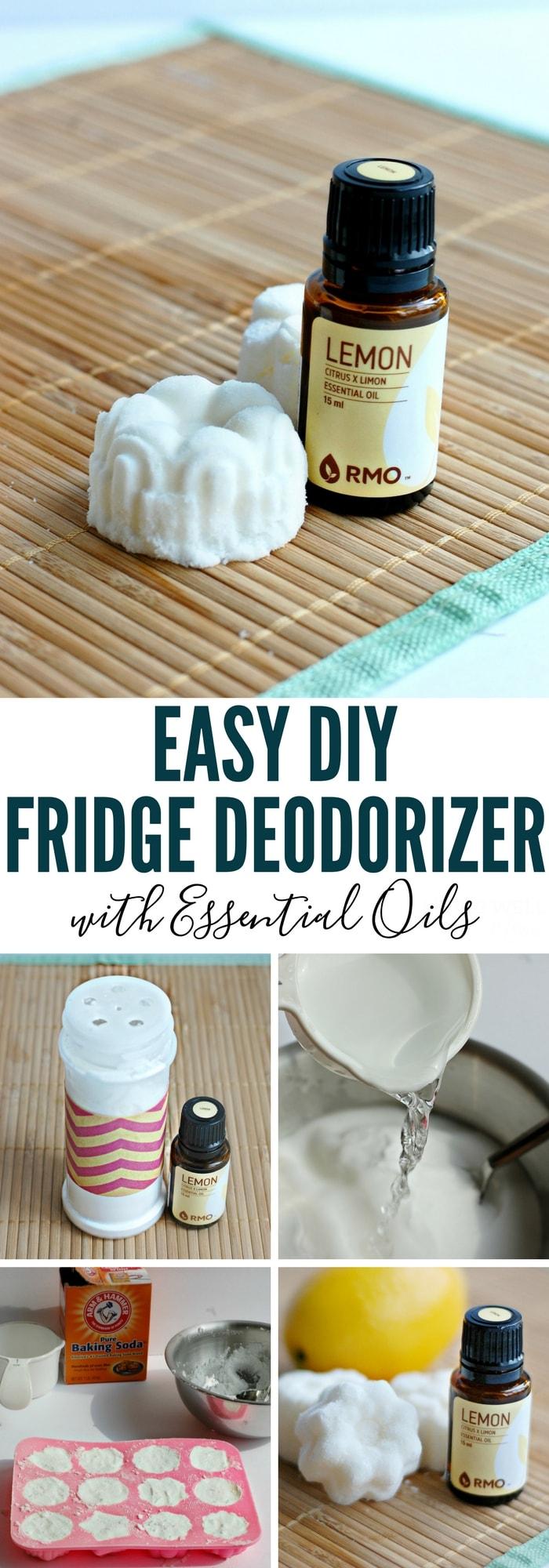 Easy Diy Fridge Deodorizer With Essential Oils