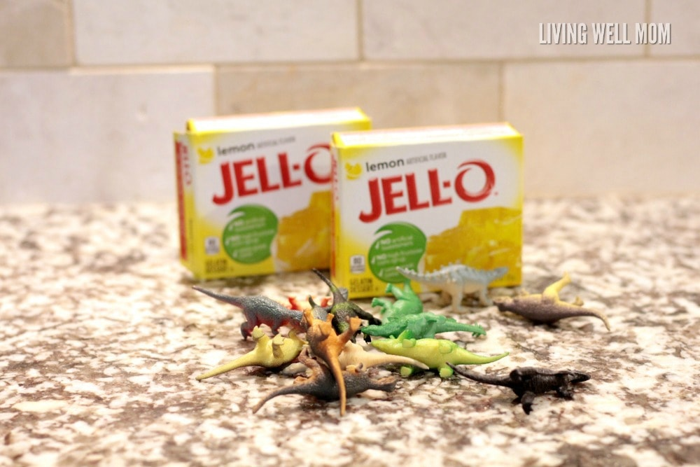 Kids will love digging for their own dinosaurs in this fun Edible Fossil Dig activity! From toddlers to kids with autism, this is a great sensory activity too.