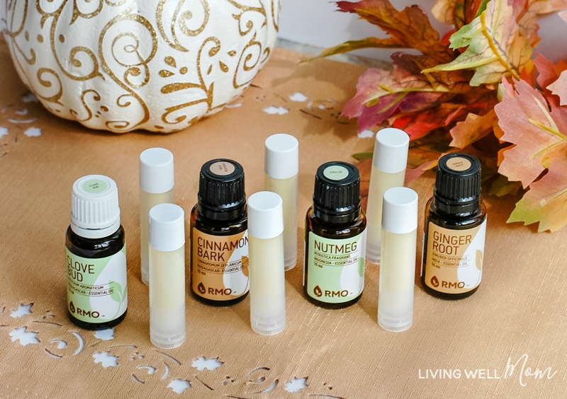 diy pumpkin spice lip balm with essential oils living