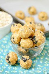 5-Minute Blueberry Snack Balls (Gluten-Free, Dairy-Free)