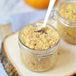 Pumpkin Spice Overnight Oats