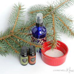 DIY Holiday Essential Oil Room Spray