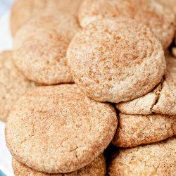 Soft Pumpkin Spice Snickerdoodles (Gluten-Free)