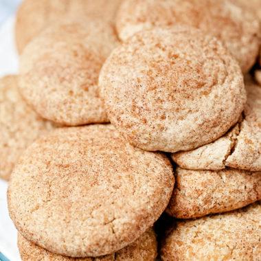 pumpkin spice snickerdoodle cookies