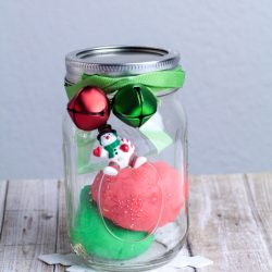 DIY Mini Christmas Playdough Kit