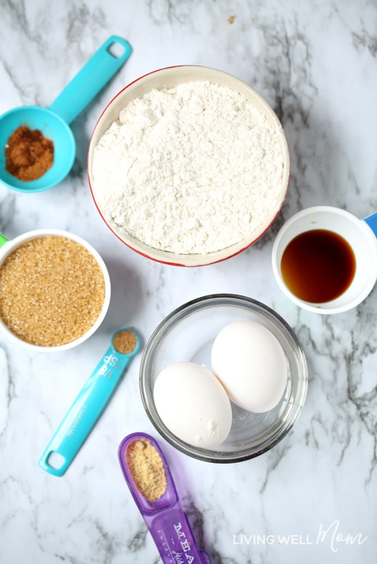 pumpkin spice snickerdoodles ingredients