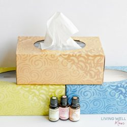 Essential Oil Diffused Tissues