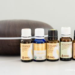 "This ""Uplifting"" essential oil diffuser blend may help improve your mood, reduce depression, and raise your spirits. There are two simple diffuser recipes here - one for daytime use and a second for the evening. #essentialoils #essentialoildiffuser #diffuserblends"