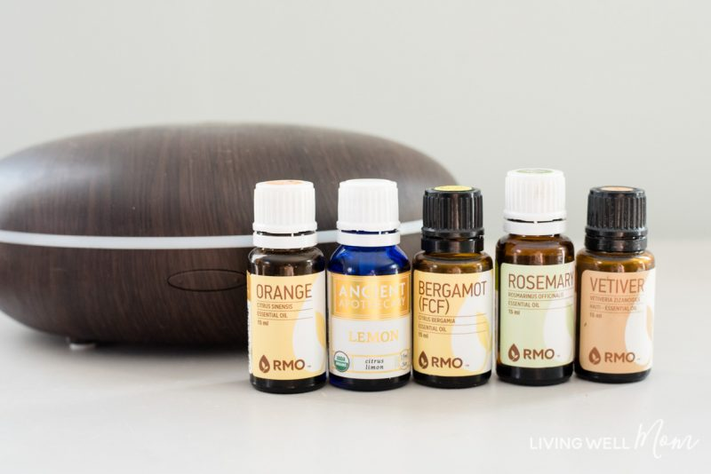 diffuser with essential oils