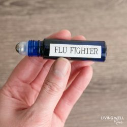 DIY Essential Oil Roller Blend: Flu Fighter