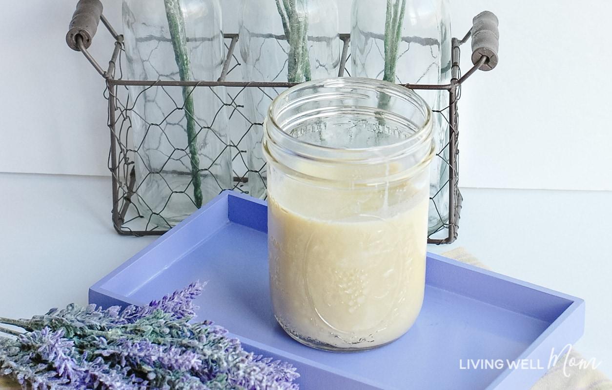 homemade lavender body butter