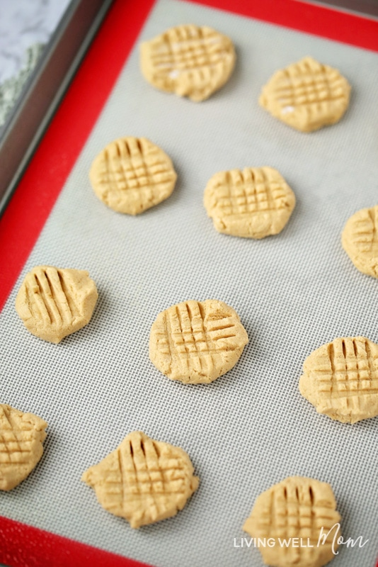 chewy gluten-free peanut butter cookies dough