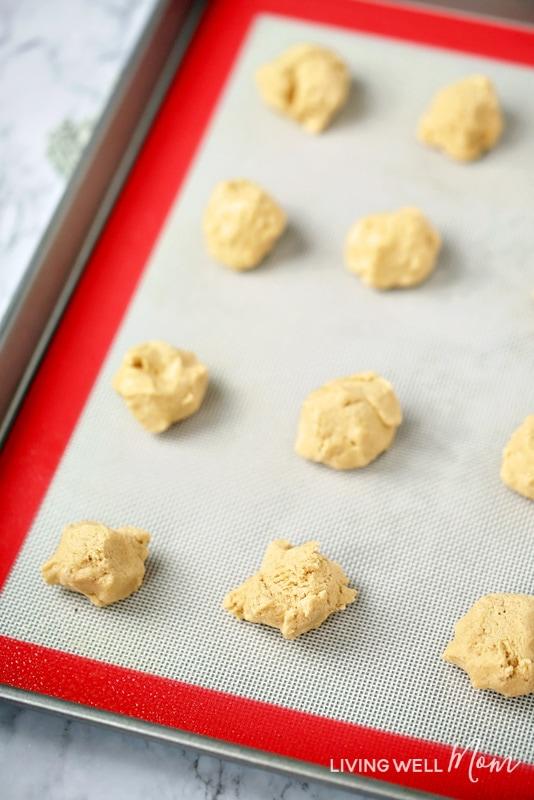 gluten-free peanut butter cookie dough
