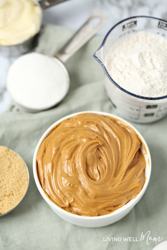 peanut butter with cookie ingredients