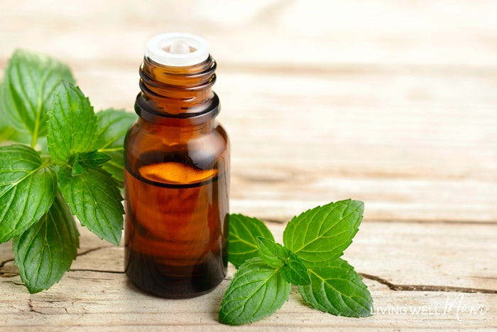 peppermint essential oil to help with seasonal allergies