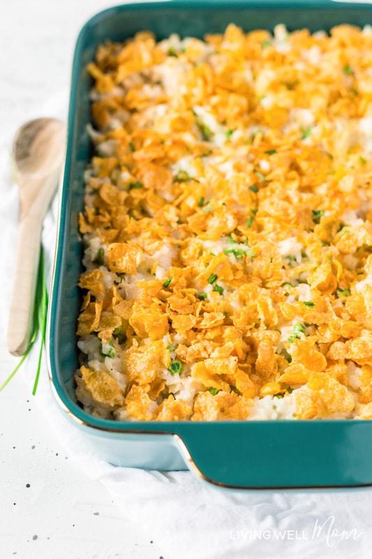 Tasty Chicken And Rice Casserole Gluten Free Dairy Free
