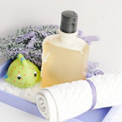 Calming Homemade Bubble Bath with Essential Oils