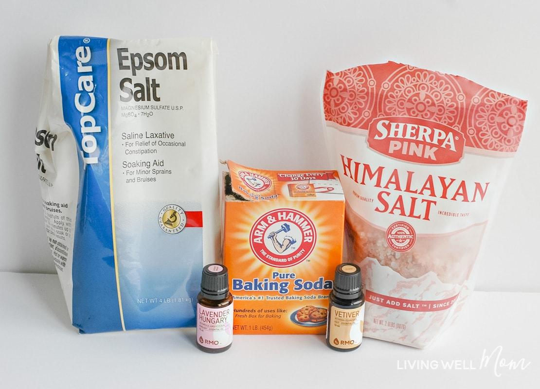 bath salt ingredients
