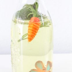 DIY Spring Sensory Bottles for Kids