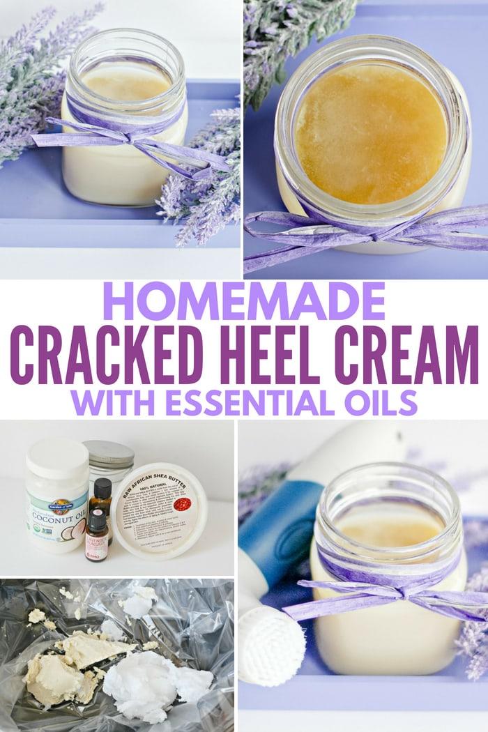 how to make cracked heel cream