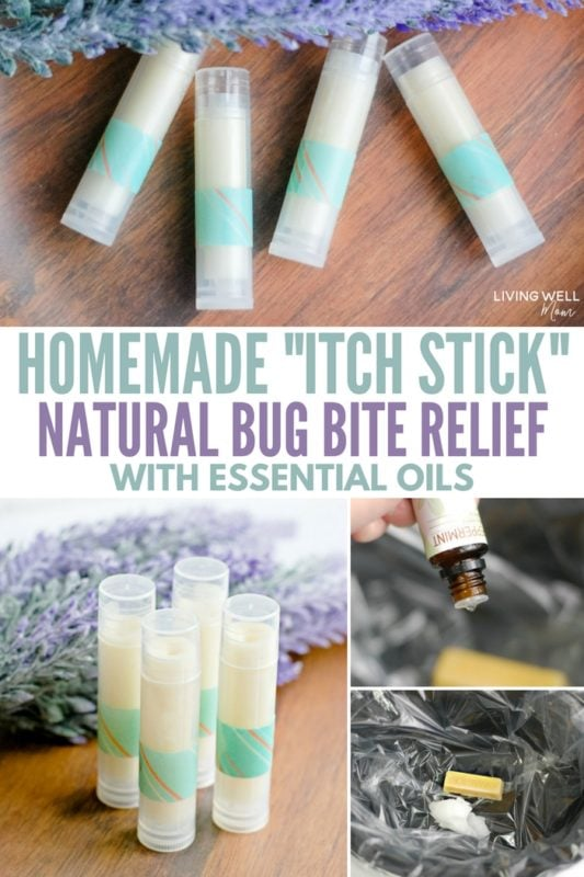 Homemade Itch Stick Recipe Natural Bug Bite Relief with Essential Oils