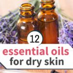 essential oil bottles with dropper for dry skin