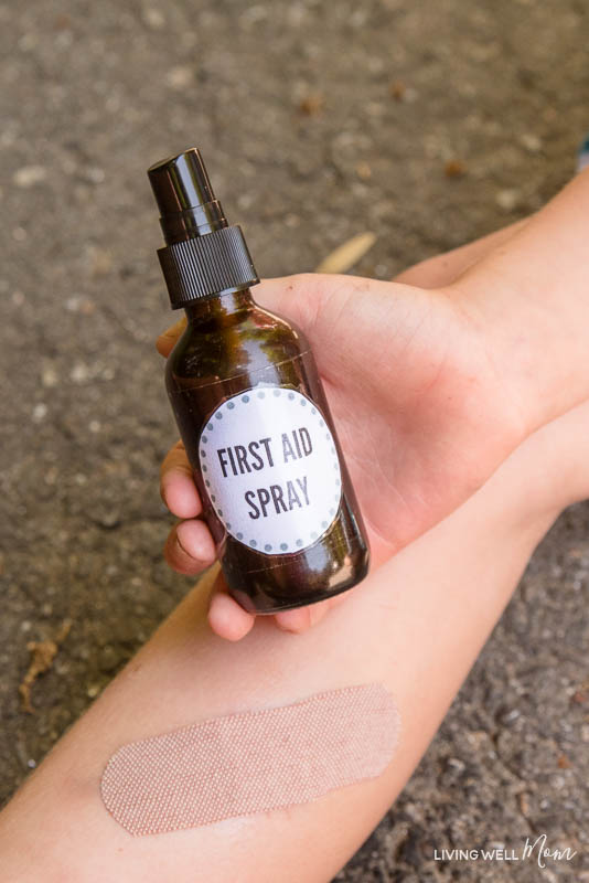 natural homemade first aid spray