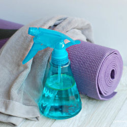 DIY Yoga Mat Spray with Essential Oils
