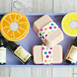Homemade Citrus Goat Milk Soap for Kids Recipe