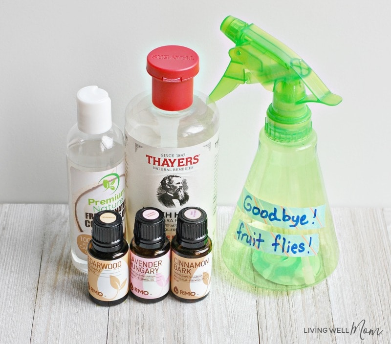 diy fruit fly repellent with essential oils