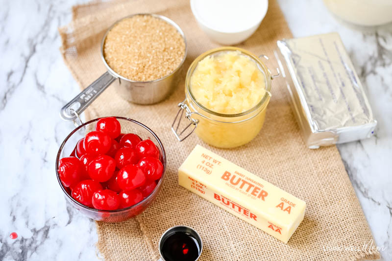 ingredients for Gluten-free Pina Colada cupcakes