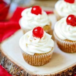 Gluten-Free Pina Colada Cupcakes