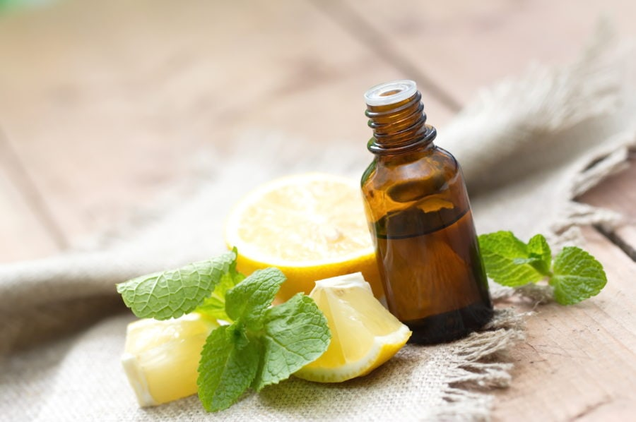 lemon essential oil for seasonal allergies