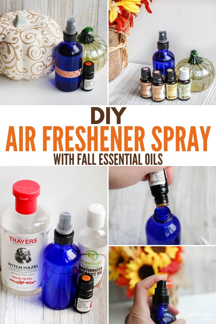 DIY Air Freshener Spray with Fall Essential Oils Recipe