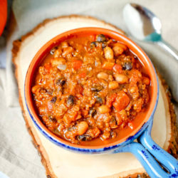 easy one-pot pumpkin chili recipe