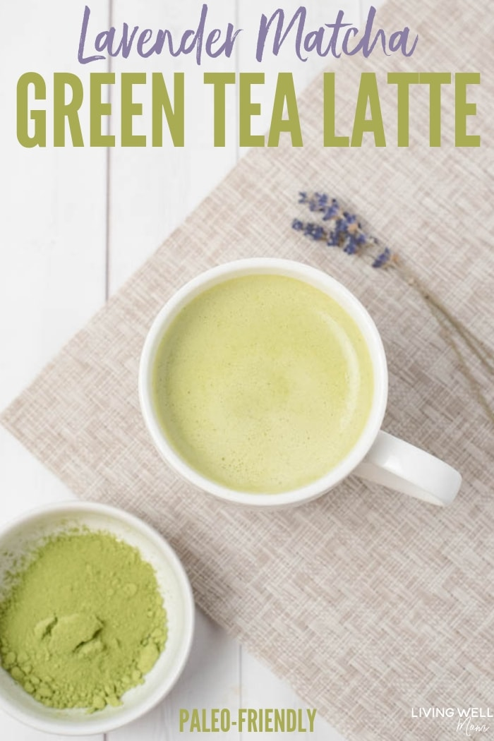 Lavender Matcha Green Tea Latte recipe