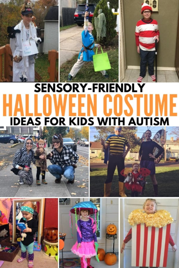 sensory friendly DIY halloween costume ideas for kids teens with autism