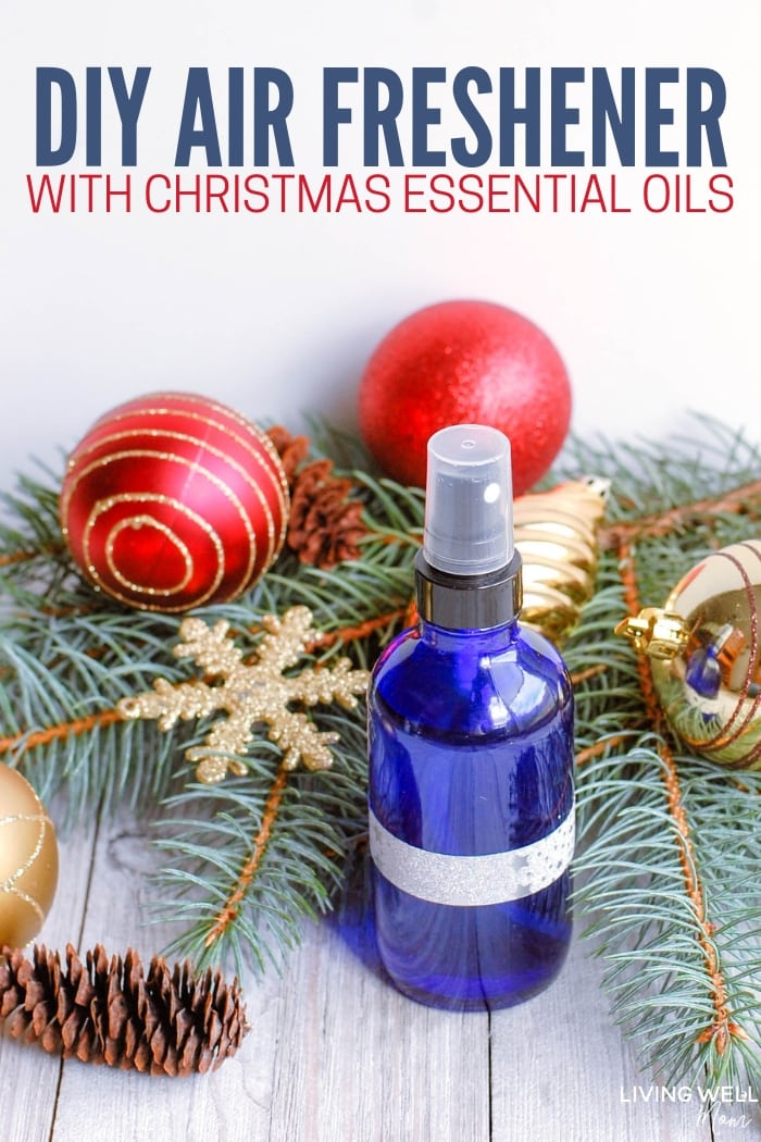 DIY Air Freshener with Christmas Essential Oils