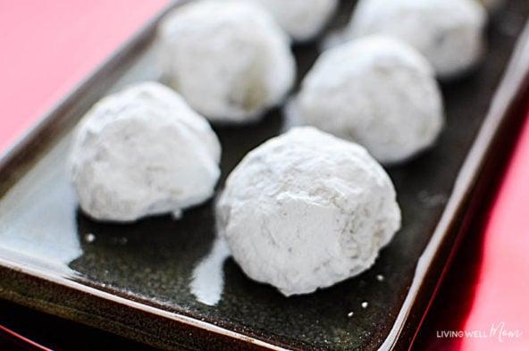 gluten free snowball cookies recipe
