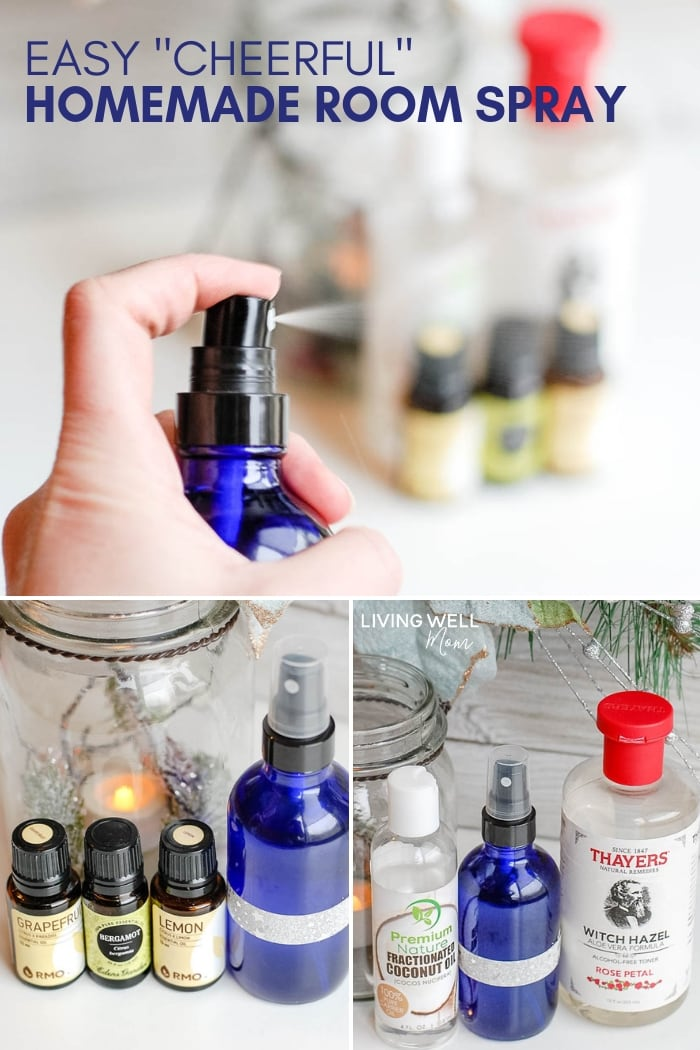 Happy Essential Oil Room Spray Easy Diy
