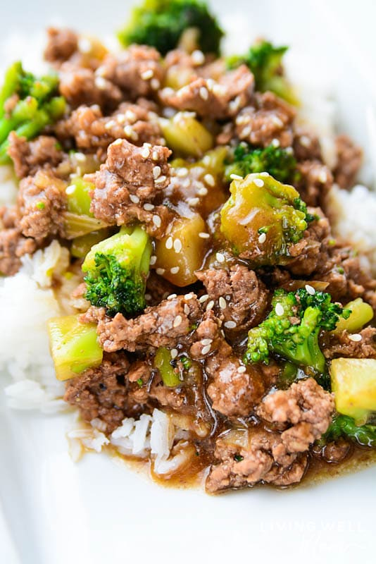 Easy Ground Beef And Broccoli Gluten Free Dairy Free
