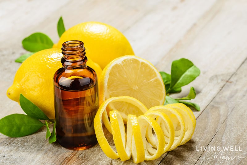 lemon essential oil to help with allergy symptoms