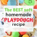 best soft homemade playdough recipe