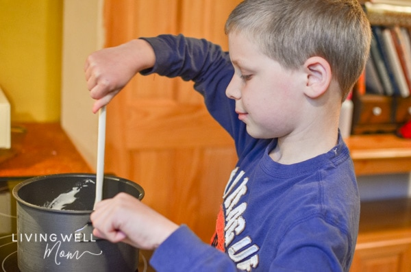 how to cook playdough on the stove without boiling