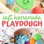 soft homemade playdough