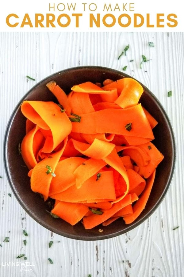 make carrot noodles