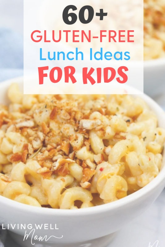 gluten-free lunch ideas for kids with macaroni and cheese